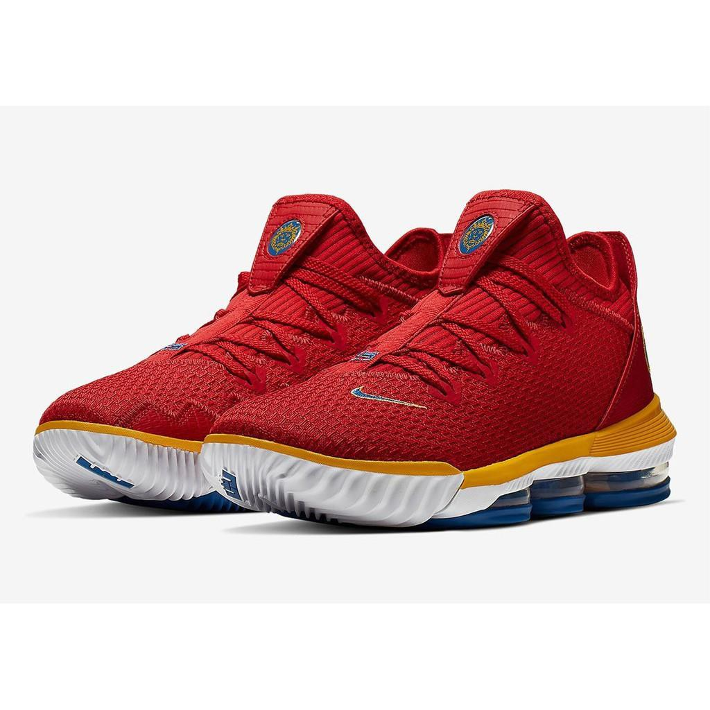 【Dr. Amazing】預購 NIKE LeBron 16 Low SuperBron 低筒 CK2168-600