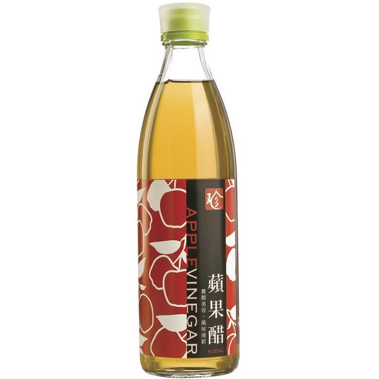 百家珍 蘋果醋(600ml/瓶)[大買家]