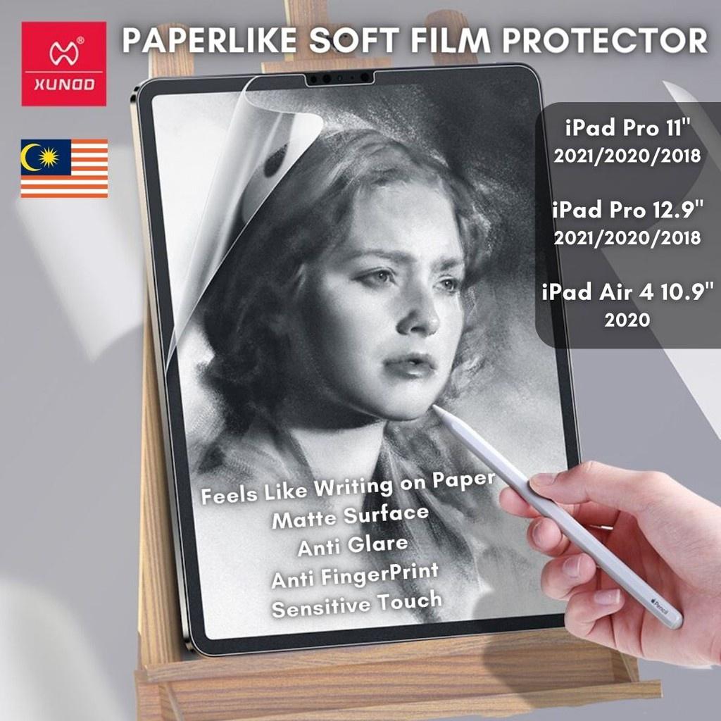 Xundd iPad Pro 11 / Pro 2021 2020 2018 / Air 4 Paperlike 啞光全