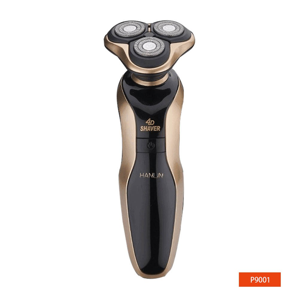 HANLIN-P9001 防水USB充電電動刮鬍刀 升級版(防水7級) 廠商直送