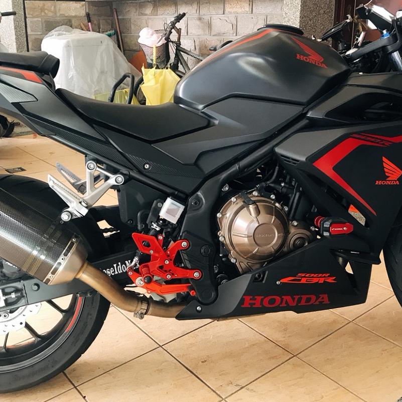 本田 CBR500R CB500F 13-20年 改裝升高腳踏 前腳踏總成 改裝零件