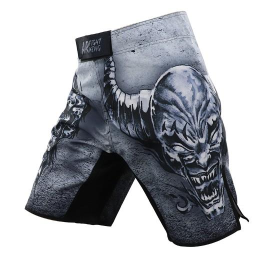 《硬派運動》ARFIGHTKING 綜合格鬥褲 惡魔灰
