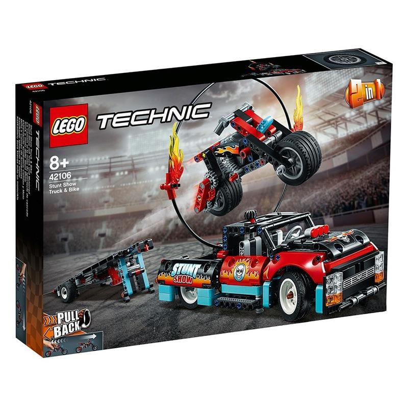 LEGO樂高新品機械系列42101 42103 42104 42106 42108 積木玩具