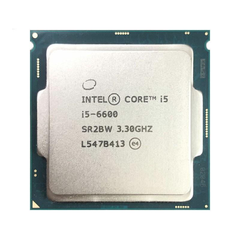 英特爾酷睿i5-6600 i5 6600 3.3 GHz四核四線程CPU處理器6M 65W LGA 1151