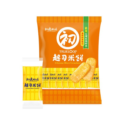 初鹿牧場起司米餅(奶蛋素)_原價105元