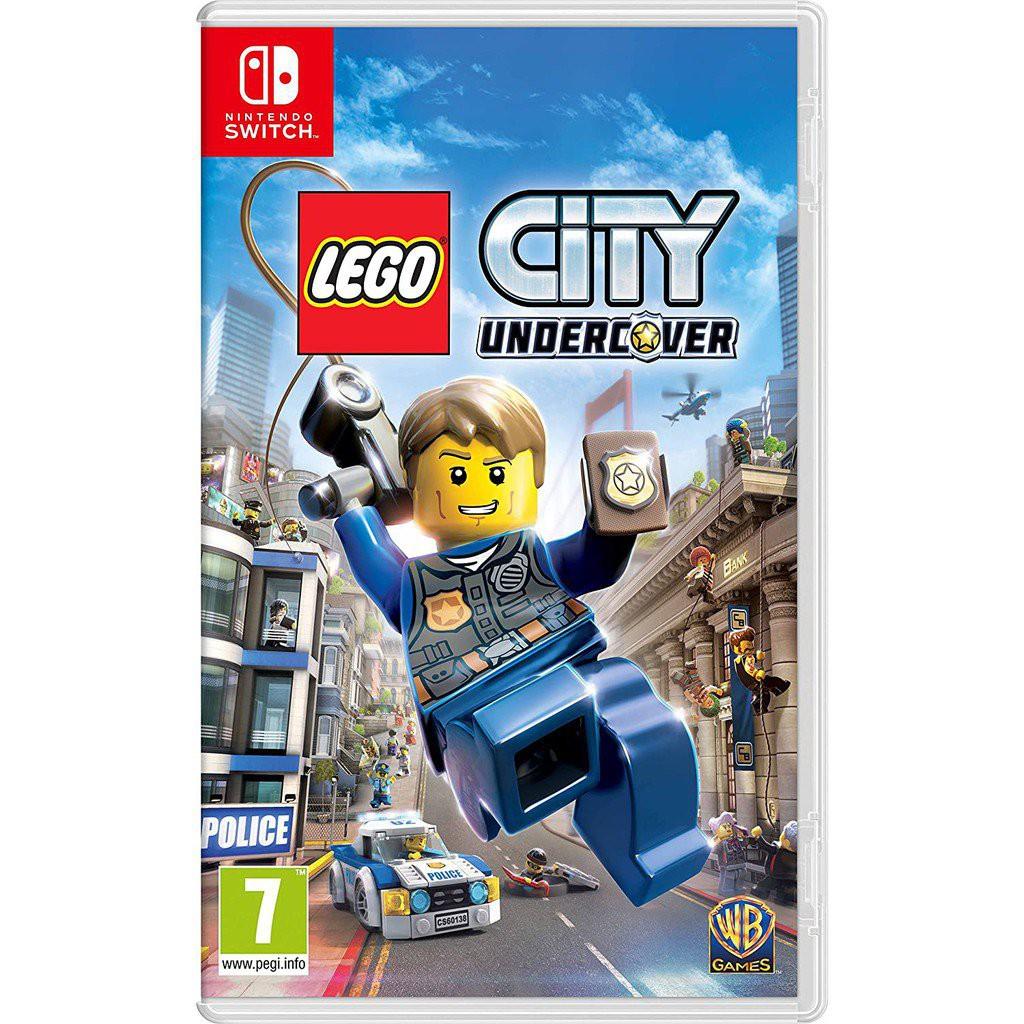 💥最遊戲💥全新現貨 NS Switch 樂高小城 臥底密探 中文版 LEGO  樂高GTA  和諧版GTA 9yuA