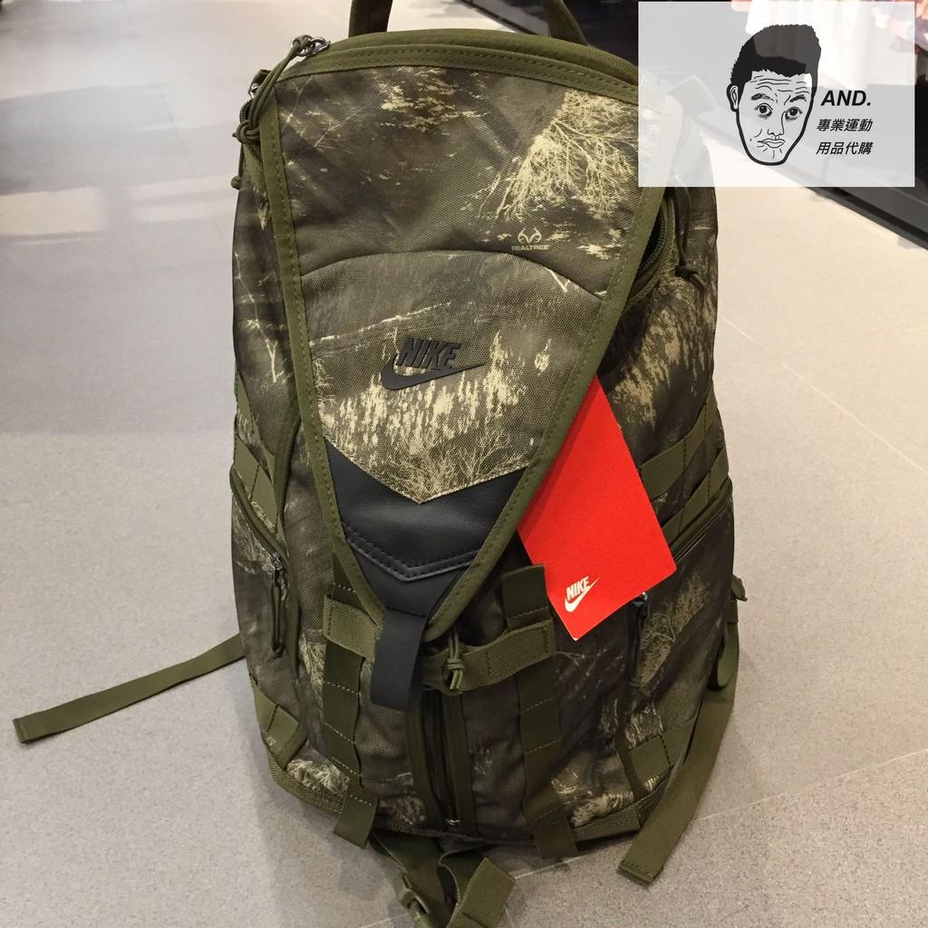 【AND.】NIKE SFS RECRUIT 印花 軍綠 訓練背包 後背包 BA6377-395