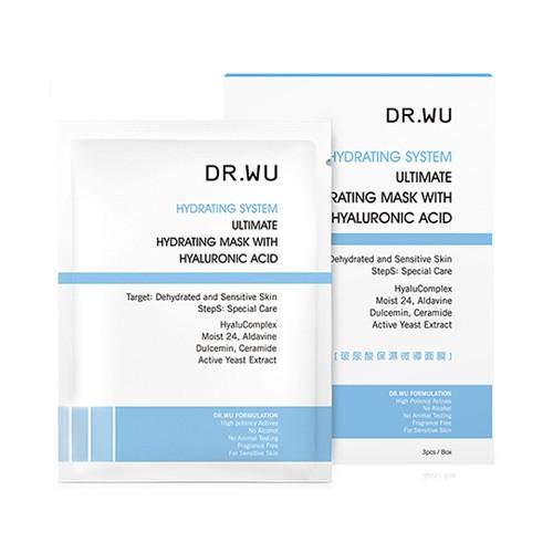DR.WU 玻尿酸保濕微導面膜(3入)【小三美日】D502062
