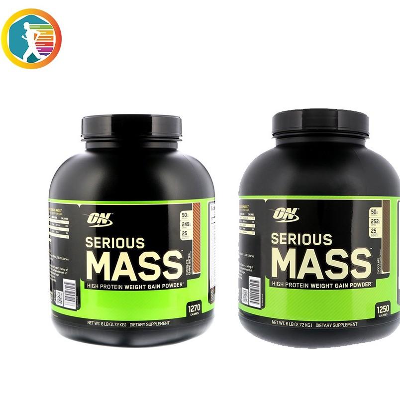 [現貨] Optimum Nutrition Serious Mass 高熱量乳清蛋白含肌酸 6磅 ON【美顏力】