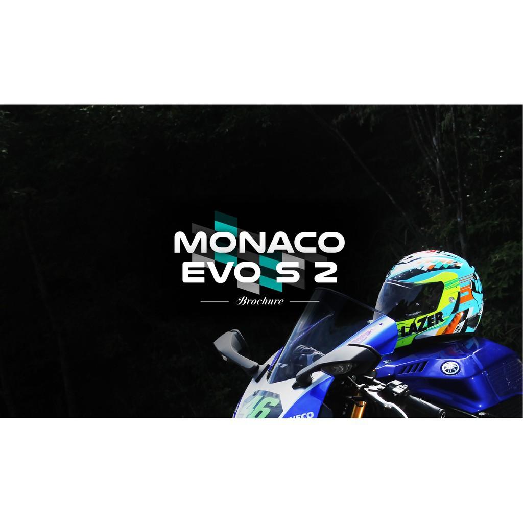 @保證原廠@Jarvish X LAZER Monaco Evo S 英雄橘 智慧安全帽 航太級碳纖 Evo S2