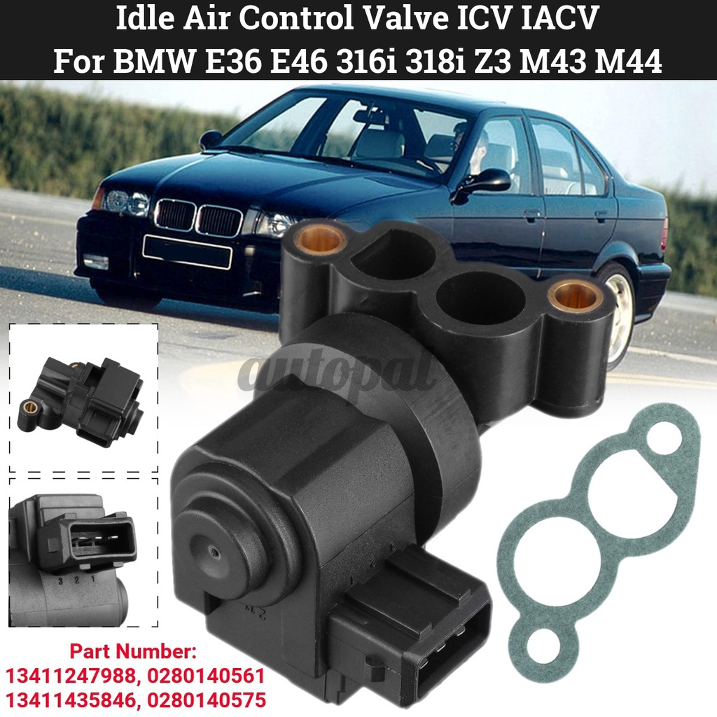 空轉空氣控制閥ICV IACV為BMW E36 E46 316I 318I 318IS 96-00 M43 M44