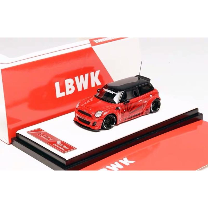 1/64 LBWK Mini Cooper太陽紋紅