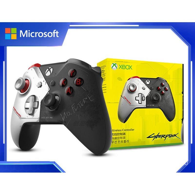 【限時⚡特價】微軟Xbox oneS 賽博朋克2077 手柄無線藍牙pcsteam Xbox控制器