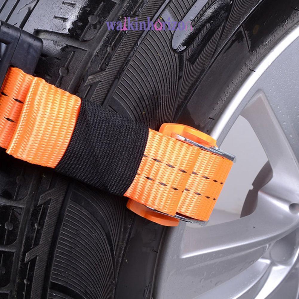 Wa:-DCar雪鏈防滑鏈防滑鏈橡膠尼龍雪泥鍊錶帶