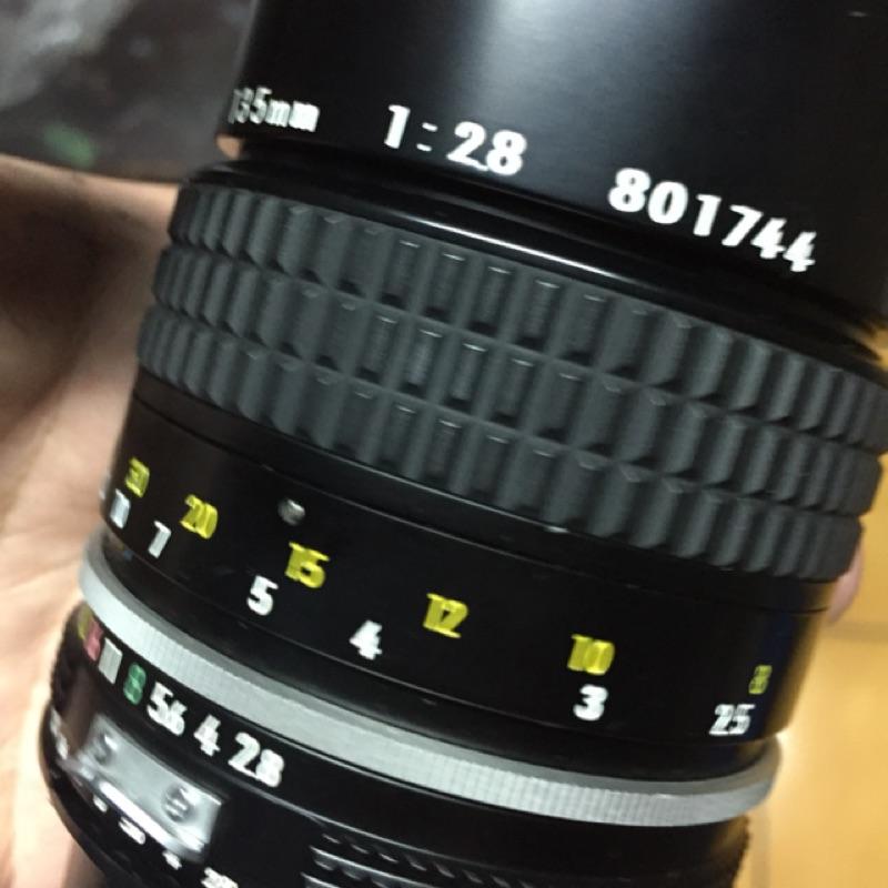 鏡頭 手動 經典 135mm f2.8 ai Nikon 美品