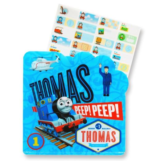 貼爸🌈24小時出貨🌈正版授權姓名貼紙🍀 (A49小張) 湯瑪士小火車 贈送精美收納夾