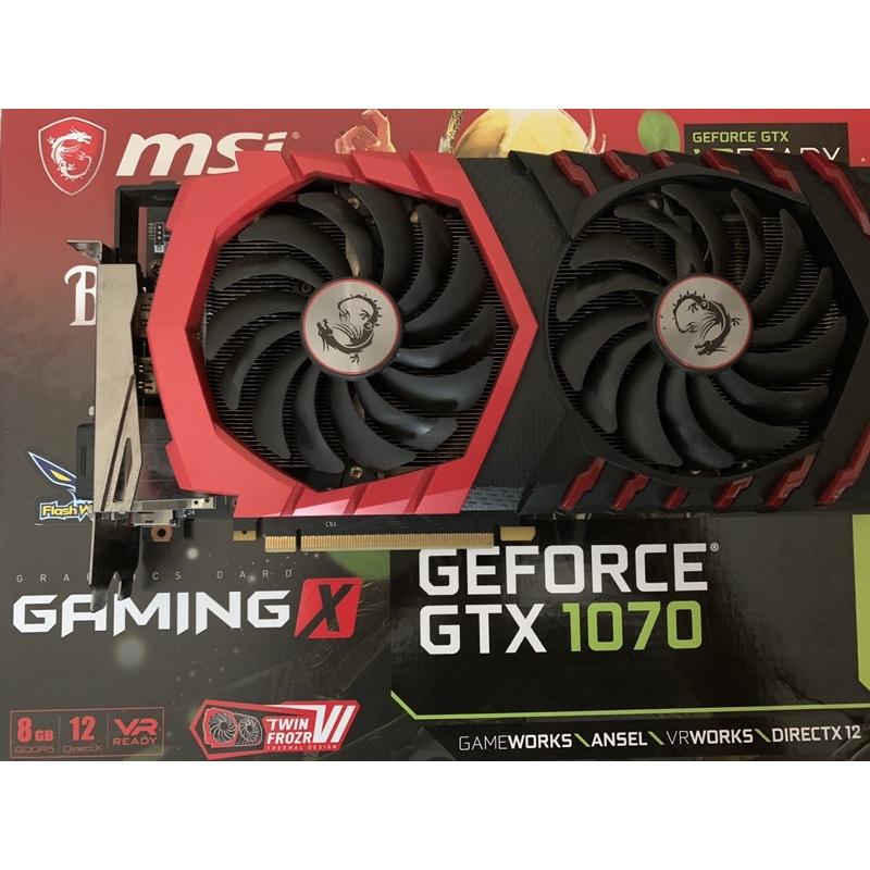 微星 MSI GTX 1070 Gaming X 顯示卡 ( 1070ti 1080 1060 參考)