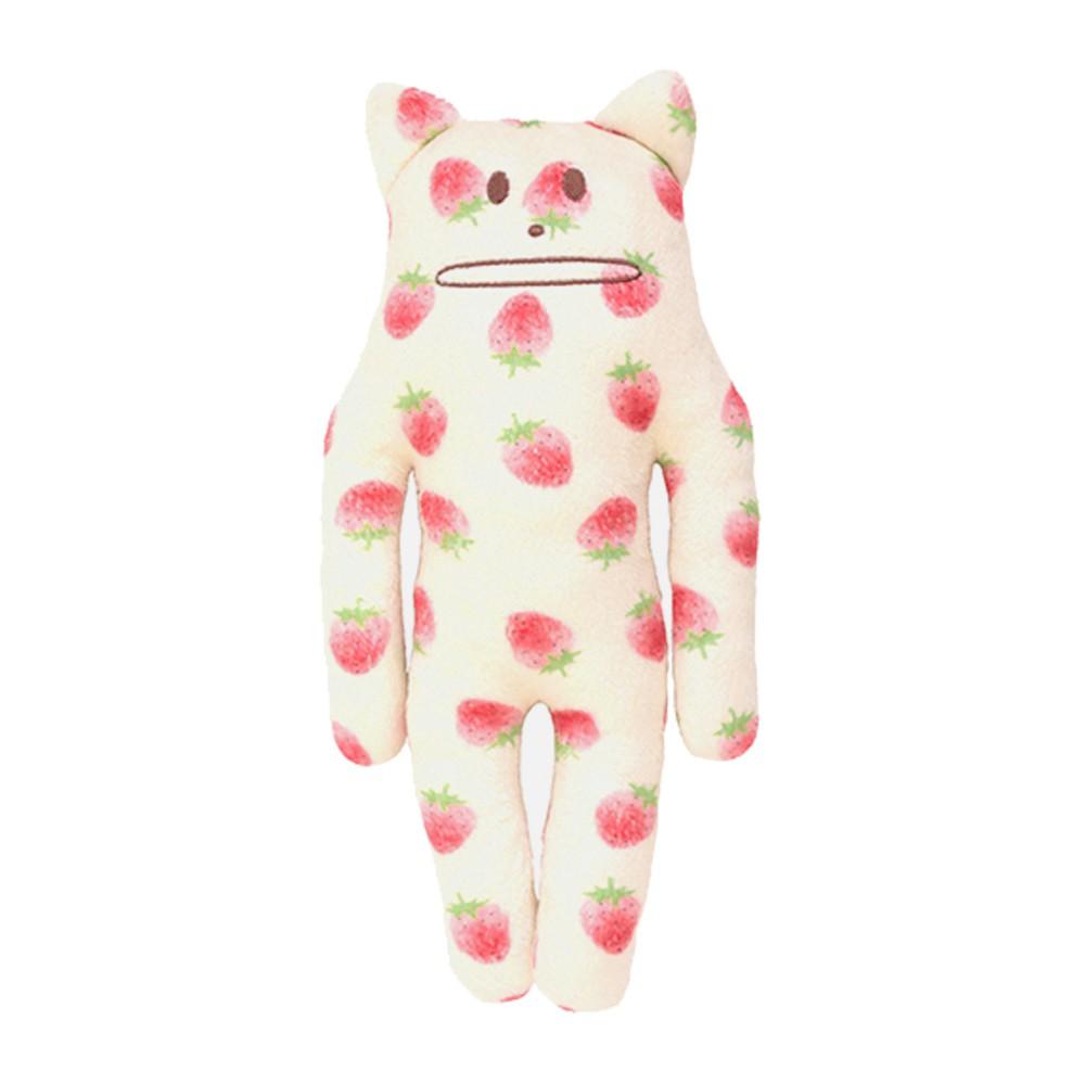 CRAFTHOLIC 宇宙人 多汁草莓貓小抱枕
