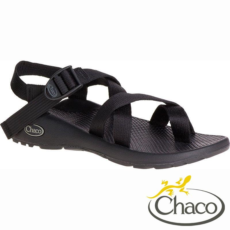 【Chaco 美國】Z2女 越野運動涼鞋- 夾腳款 ZCW02『H405 黑』
