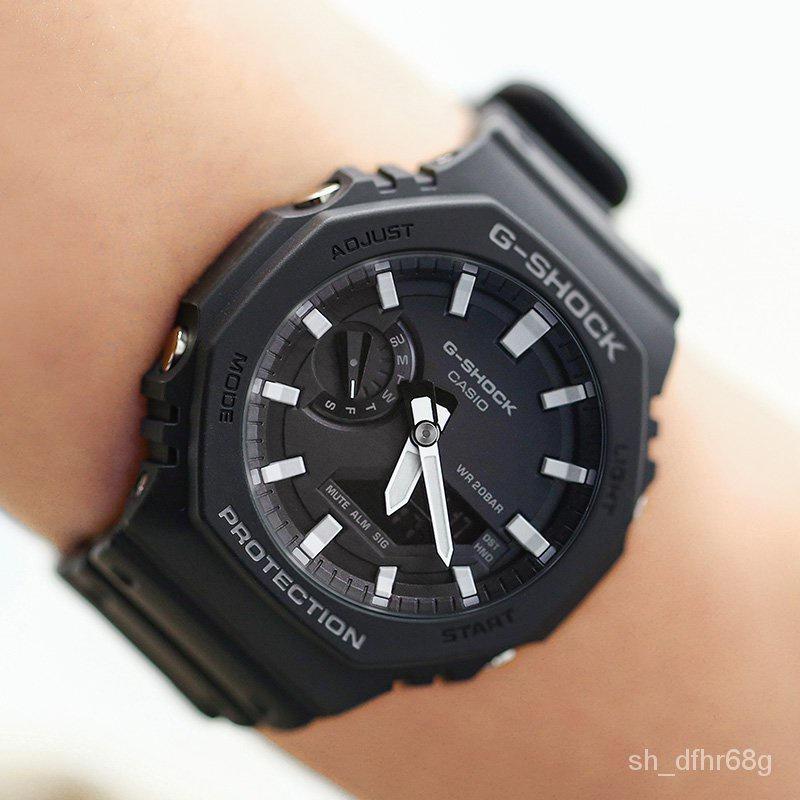 WgbI 卡西歐手錶G-SHOCK GA-2100-1A/4A/TH/THB-7A/2110SU-3A 電子男錶