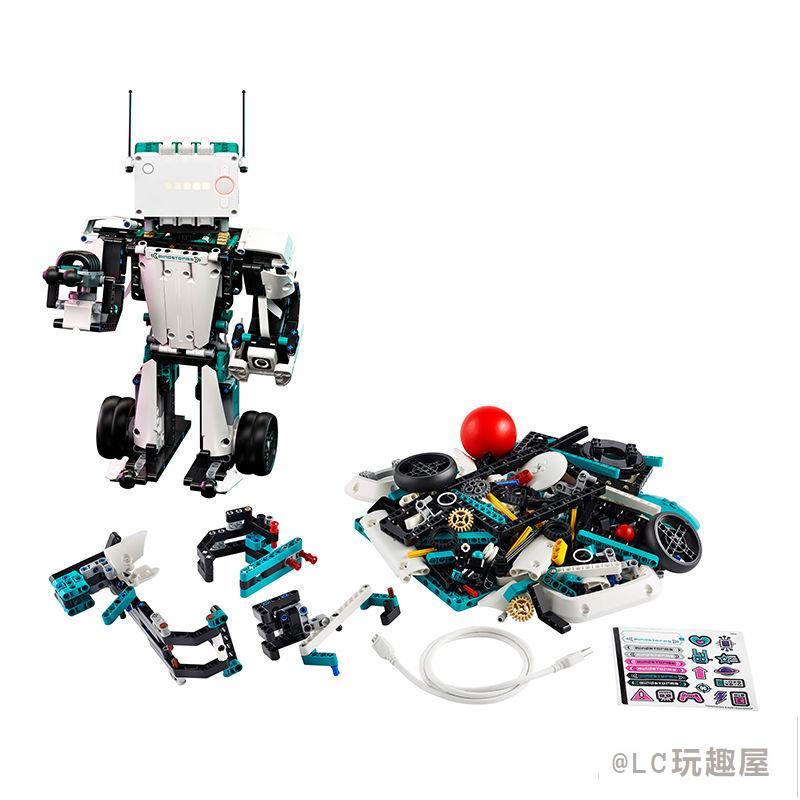 【LEGO】樂高 積木 拼裝玩具 全新第四代頭腦風暴5合1機器人51515 現貨