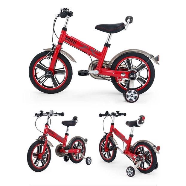 「免運」英國Mini Cooper 城市型兒童自行車/腳踏車14吋-辣椒紅