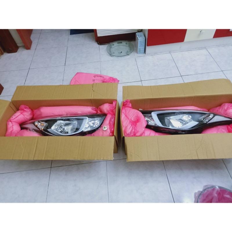 現代Elantra EX版 原廠大燈 尾燈