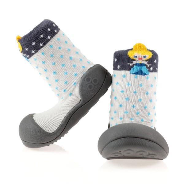 韓國 Attipas 快樂腳襪型學步鞋-冰雪公主【麗兒采家】