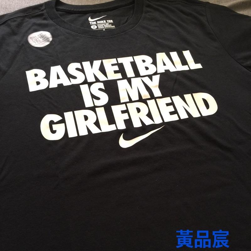 Nike girlfriend 短T. S號