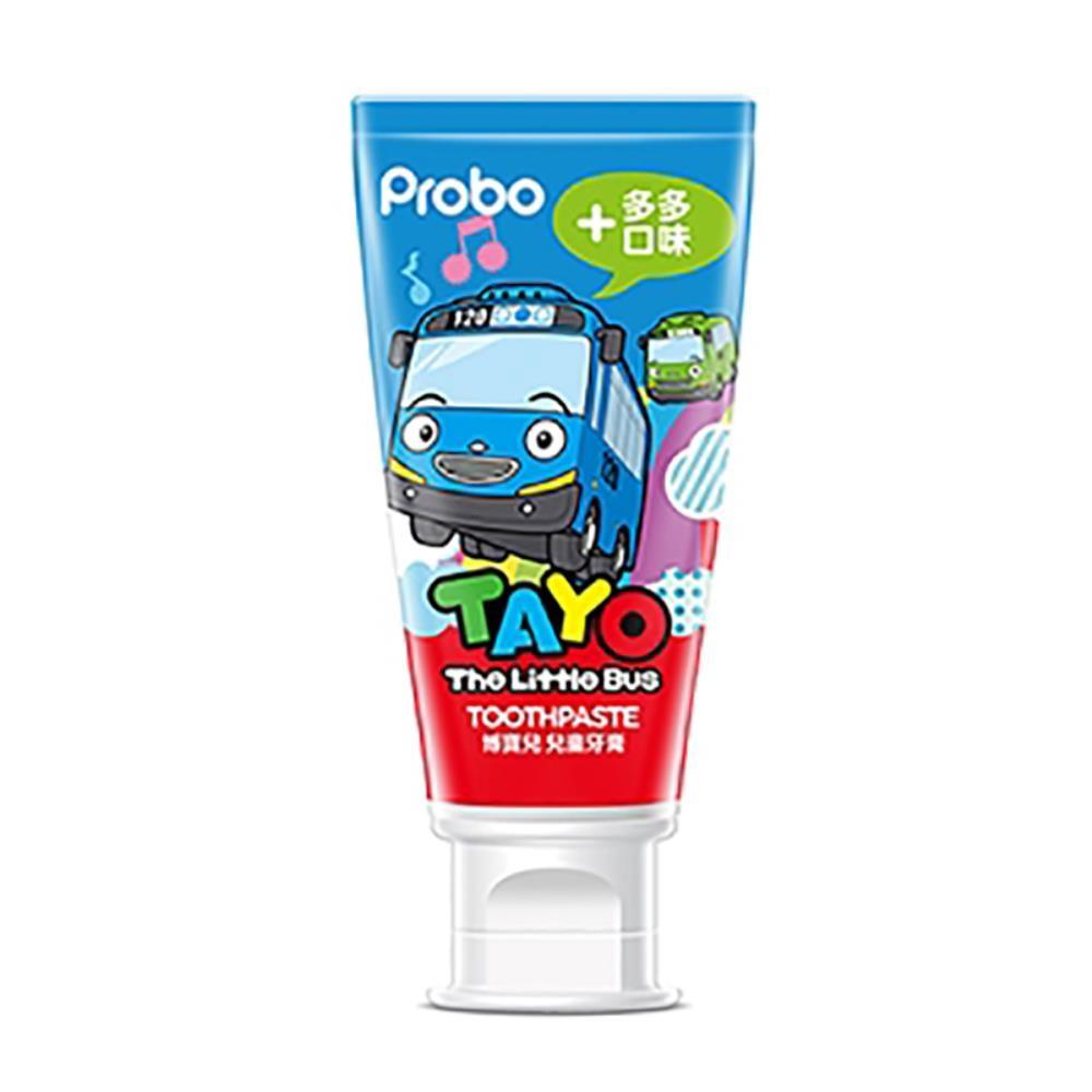 快潔適 AgAINST24 博寶兒兒童牙膏-小巴士Tayo(多多口味)