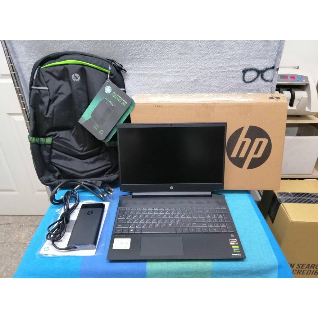 0425 二手極新 HP 光影 15吋電競筆電 R7 4800H/8G/512G/GTX1660Ti-6G/WIN 10