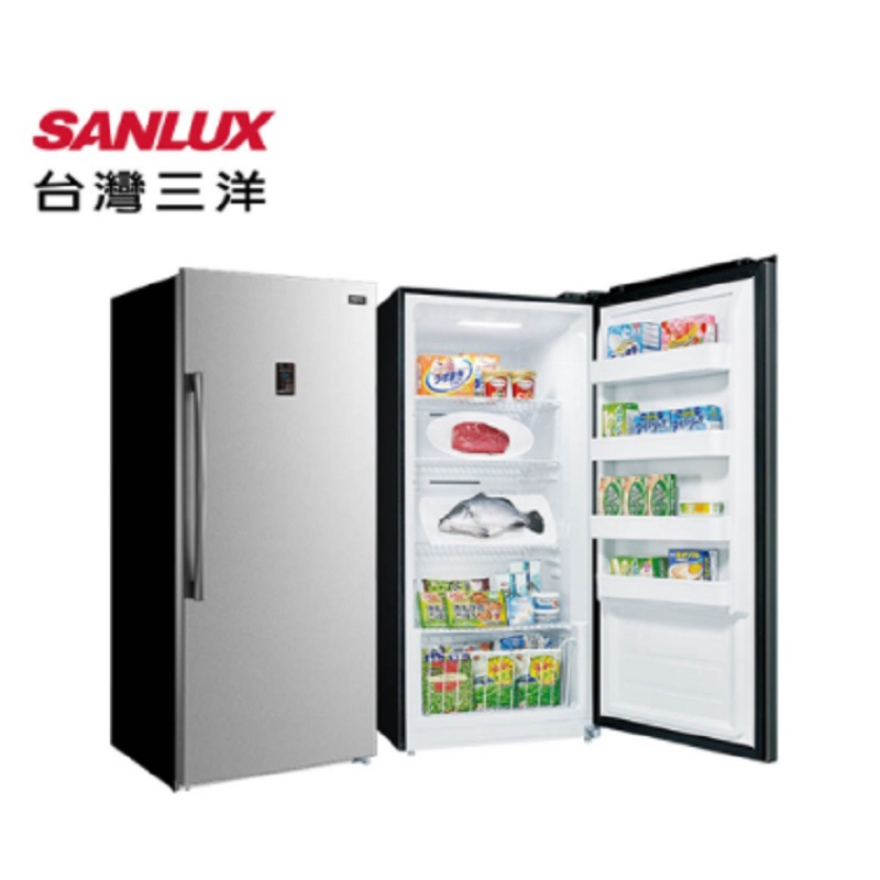 SANLUX 三洋 410公升 直立式 冷凍櫃 SCR-410FA