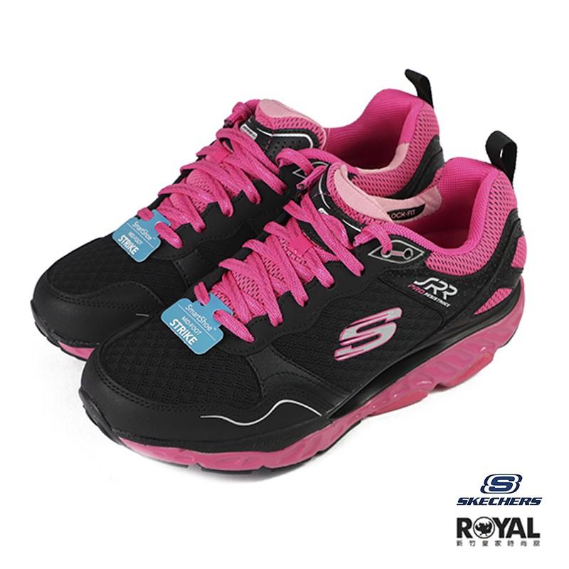 Skechers Pro 黑粉色 織布 足弓推進器 回彈 避震 休閒鞋 女款 NO.J0298 廠商直送 現貨