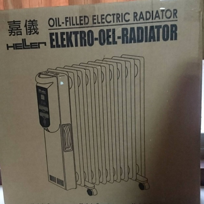 嘉儀葉片式電暖器(12片)