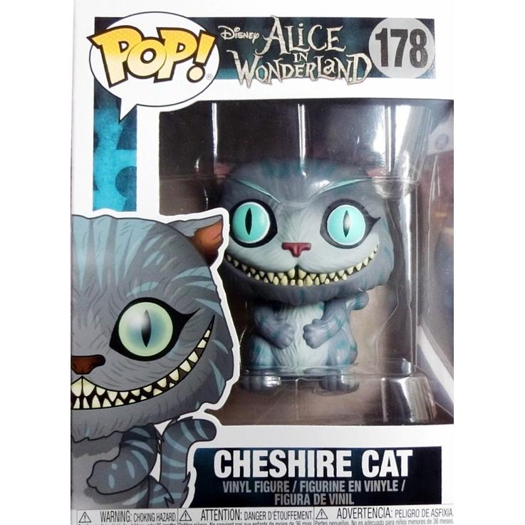 {克拉克玩具} Funko POP Cheshire Cat 迪士尼 魔境夢遊 妙妙貓 裂嘴貓 柴郡貓 178