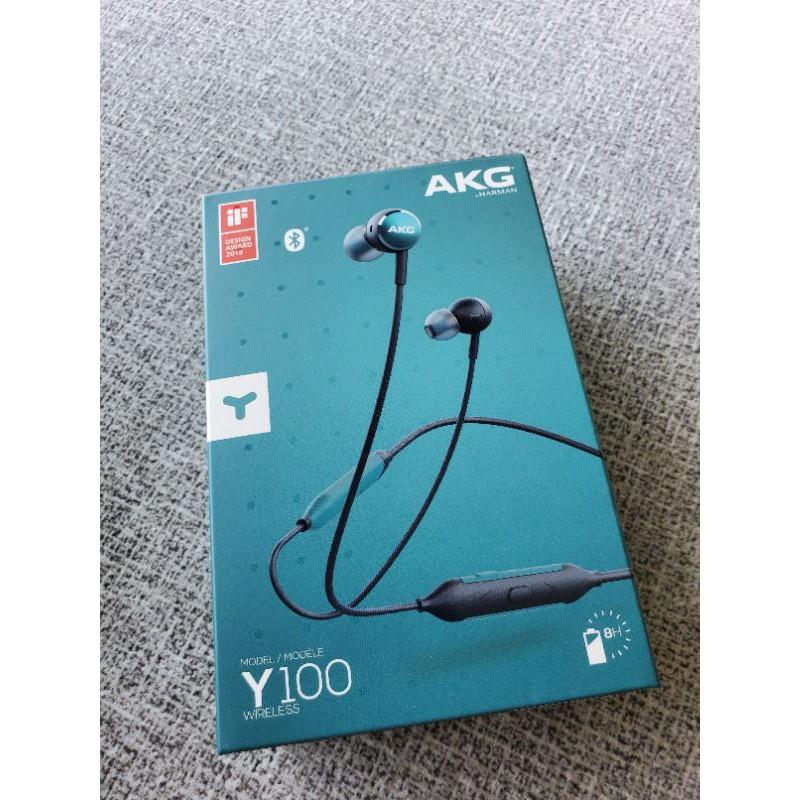 AKG Y100 無線藍芽耳機