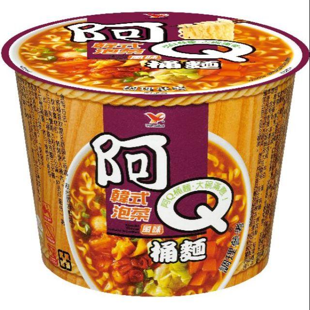 阿Q桶麵韓式泡菜12入(只限桃園新竹台北區購買)