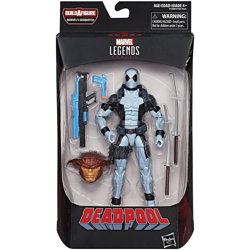 【 TOY BOY 】Marvel Legends Deadpool 灰死侍 6吋 全新現貨