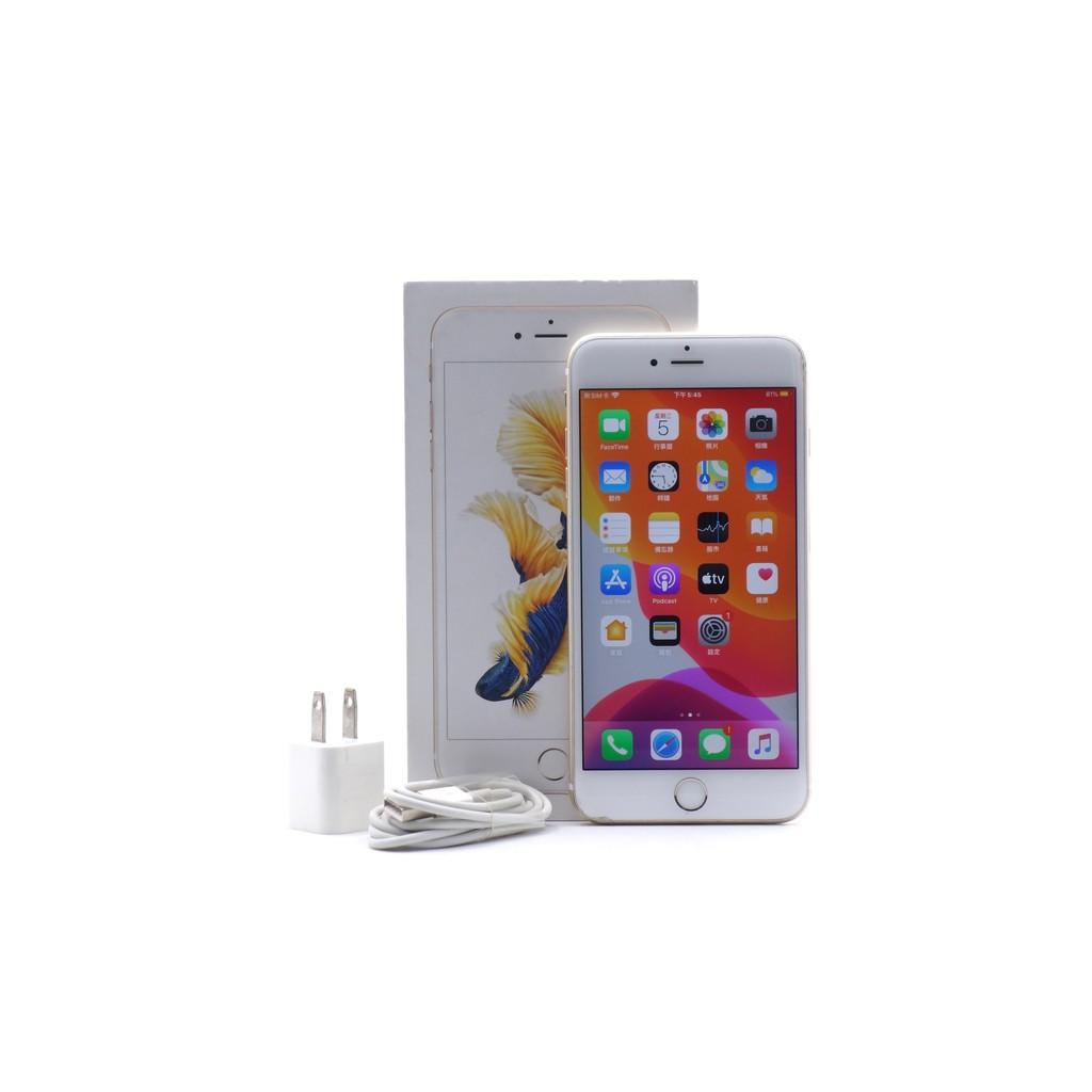 【台中青蘋果】Apple iPhone 6S Plus 金 64G 64GB 二手 5.5吋 蘋果手機 #55159