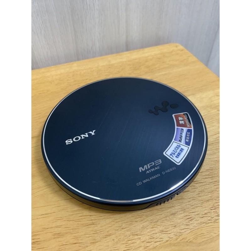 【SONY】CD隨身聽-型號D-NE830(九成新)