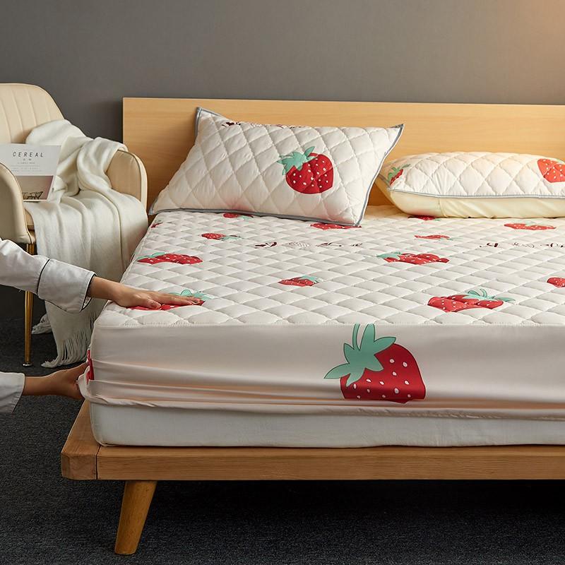 高端良品水洗棉防水夾棉床包100%防水/日式透氣防蟎保潔墊/單人/雙人/加大/床單/床包式防水保潔墊