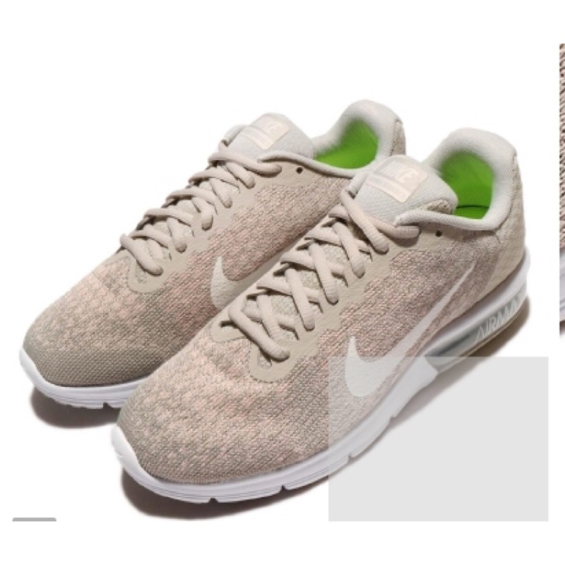 Nike Wmns Air Max Sequent 慢跑鞋 23.5(二手)