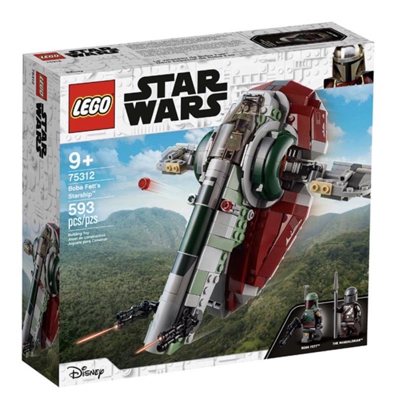 LEGO 75312 星際大戰系列 波巴費特的星艦