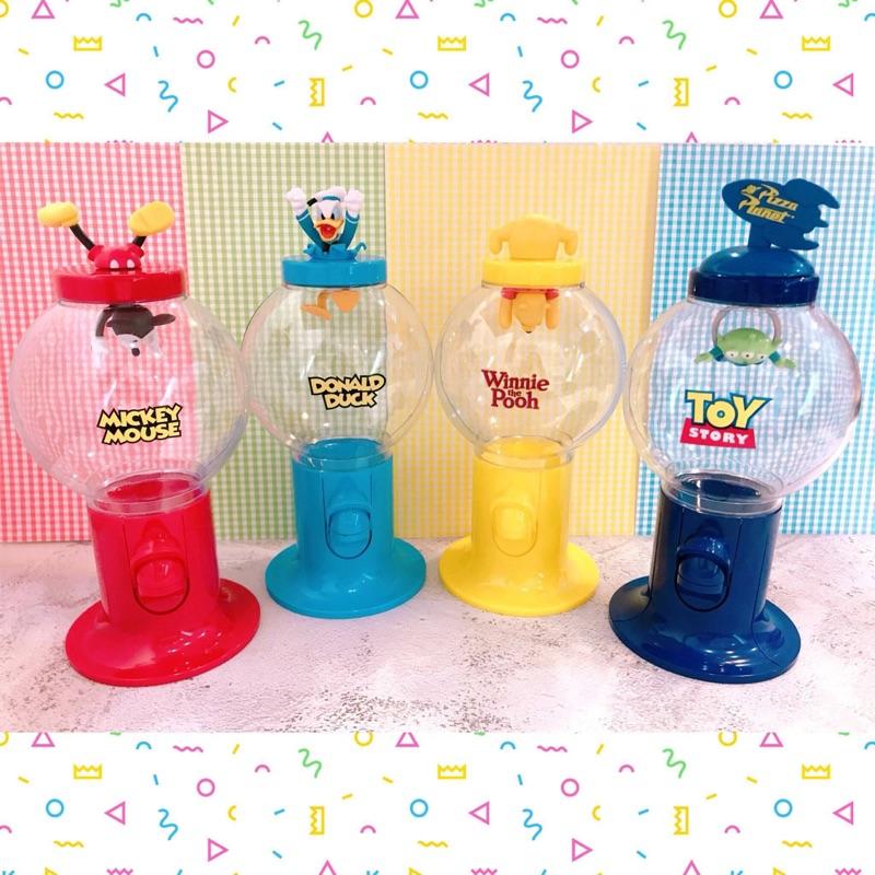 迪士尼扭蛋機造型糖果罐🍭/日本帶回尺寸:11*24cm