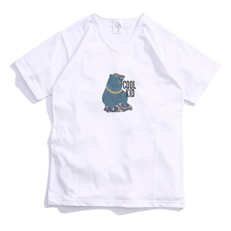 ONE DAY 台灣製 161C331 V領素T 寬鬆衣服 短袖衣服 衣服 T恤 短T 素T 短袖T恤 V領T恤