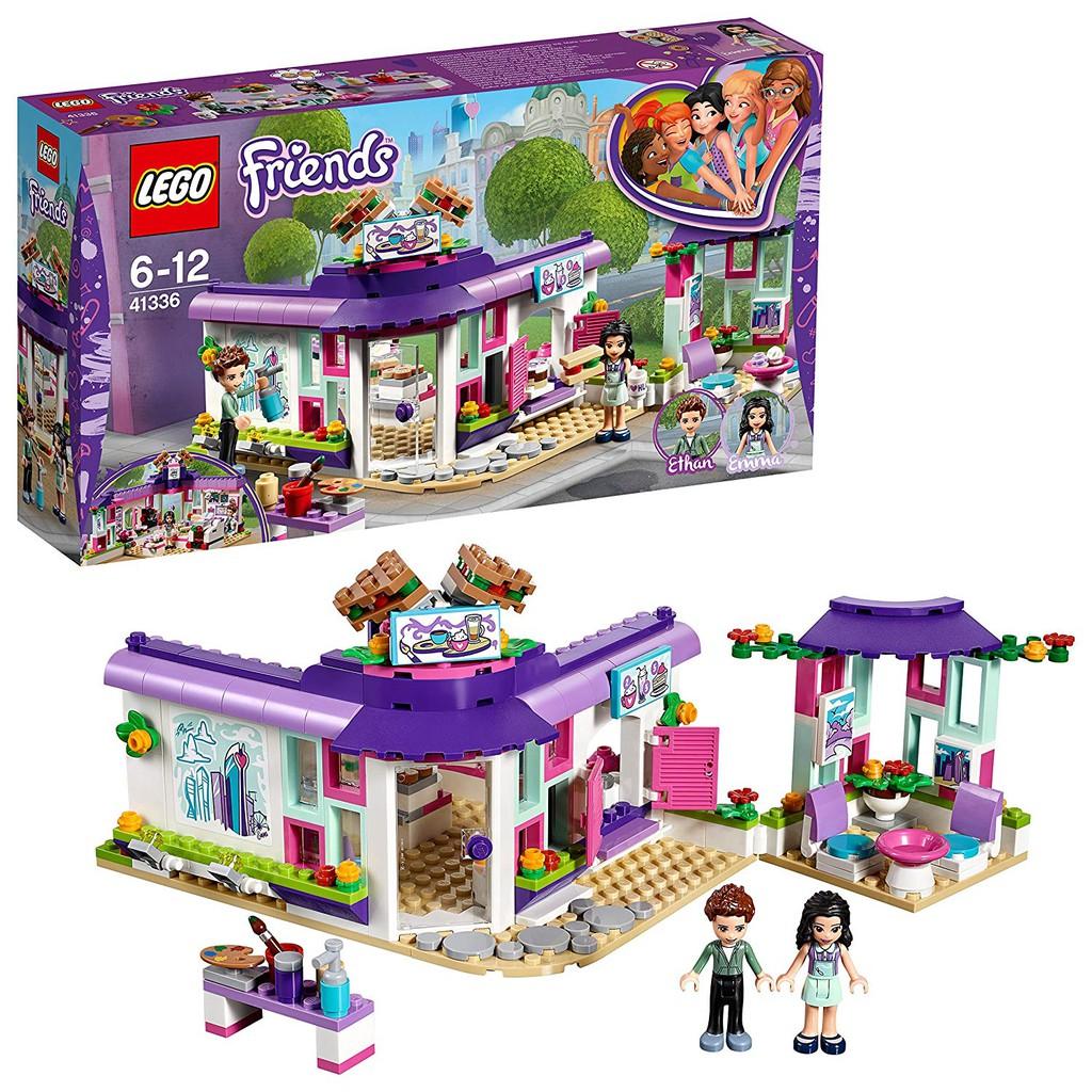 LEGO 樂高 41336 好朋友 Friends系列 艾瑪的藝術咖啡廳 積木 全新