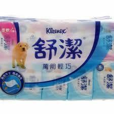 舒潔萬用輕巧抽取衛生紙(1包120抽)