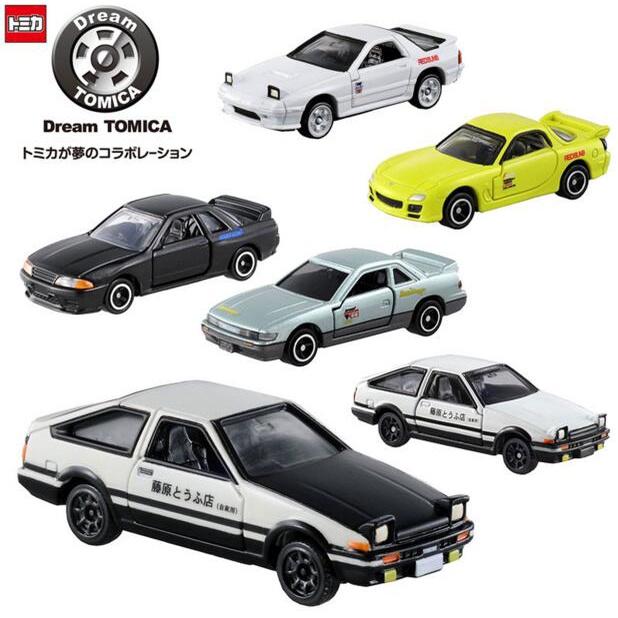 現貨日本TOMY多美卡TOMICA合金車模型頭文字D藤原拓海AE86擺件玩具車