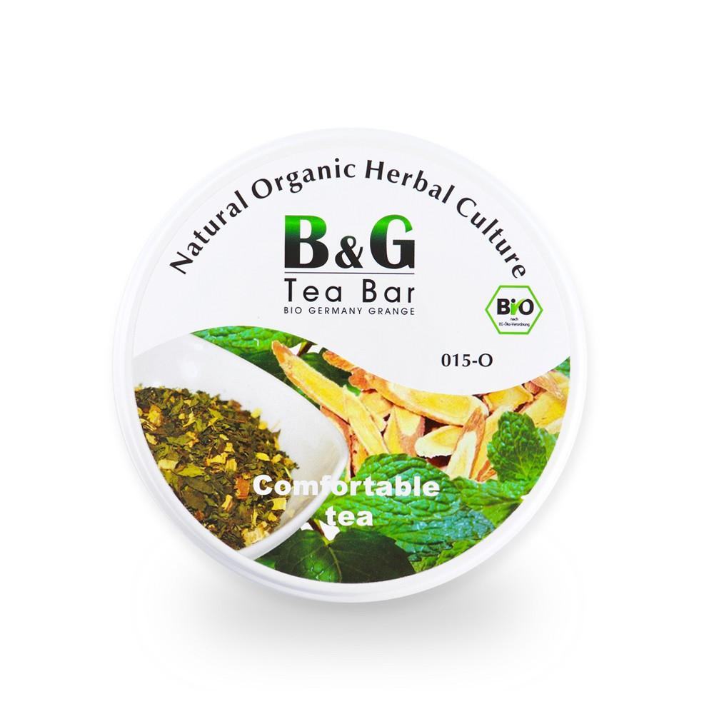 B&G 德國農莊 Tea Bar 舒福茶-圓鐵罐(30克)