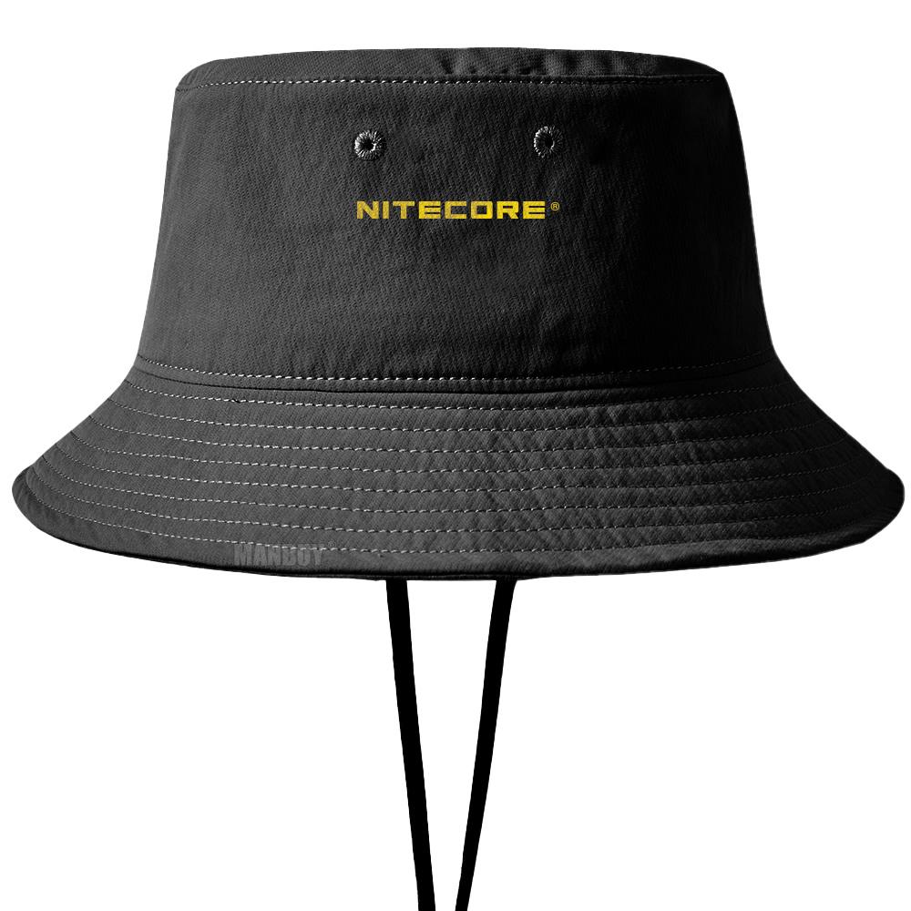 原裝 Nitecore Ndh20 Boonie 帽子戶外運動釣魚帽 2 種顏色